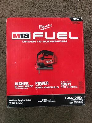 Milwaukee JIG SAW M18 Fuel/Brushless (2737 20)BRAND NEW!!!Nuevo for Sale in Los Angeles, CA