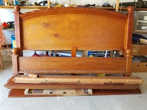 King Size Frame and Electric Hospital Bed Box Spring Frame for Sale in Hudson, FL