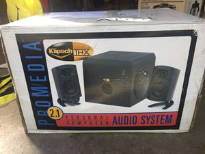 New in box Klipsch Promedia 2.1 gaming speakers for Sale in Canonsburg, PA