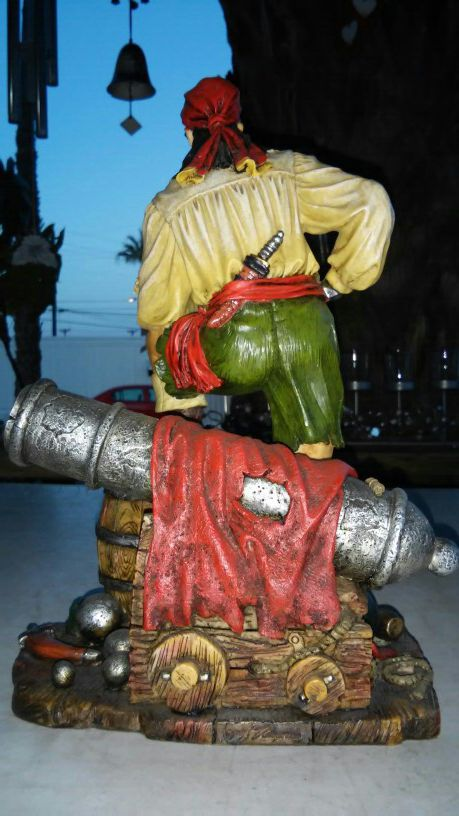 Pirate Sculpture Statue By Summit Collection. L@@K!!!