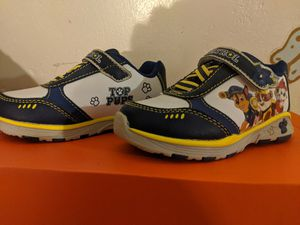 Paw patrol shoes size 6 infant for Sale in San Diego, CA