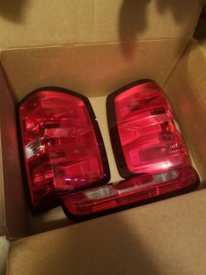 2014-2016 Silverado tail and third lights for Sale in TN, US