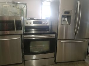 Samsung stainless steel appliances for Sale in Kissimmee, FL