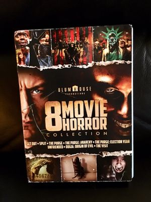 LIKE NEW 8 DVD HORROR MOVIE COLLECTION for Sale in The Colony, TX