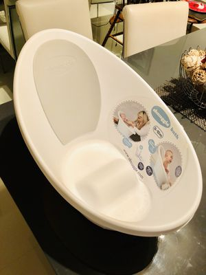 (NEW) Shnuggle Baby Bath Tub - Compact Support Seat for Newborns, Wash Infants and Make Bath Time Easy, 0-12 months for Sale in Royal Palm Beach, FL