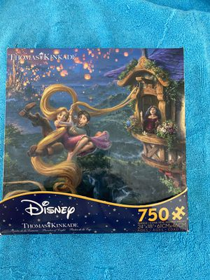 Brand new 750 piece puzzle-Disney's Thomas kinkade for Sale in Wallingford, CT