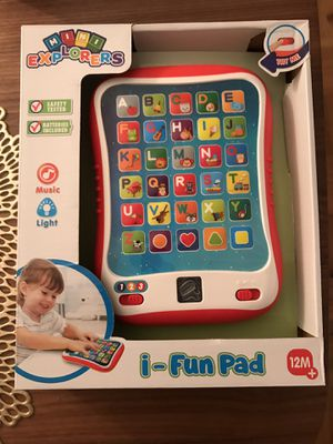 Kid's toy tablet for Sale in Queens, NY