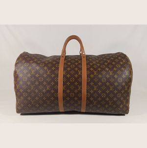 Beautiful Vintage Louis Vuitton Monogram Keepall 60 Extra Large Travel Bag for Sale in Dallas, TX