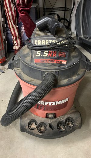 Wet/Dry shop Vac for Sale in Fresno, CA