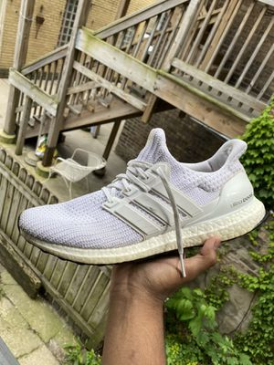 Adidas Ultra Boost 4.0 Triple White 12.5 for Sale in Chicago, IL