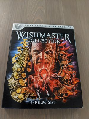 Wishmaster Collection BluRay for Sale in Culver City, CA