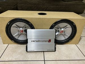 subs and amp for Sale in Phoenix, AZ