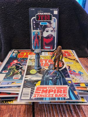 Star wars vintage action figures and comics for Sale in Port Orchard, WA