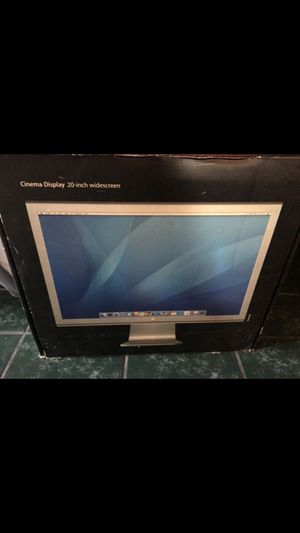 Apple 20inch widescreen for Sale in Humble, TX