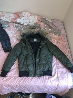 Zara men's coat Green Fur💚 for Sale in Washington, DC
