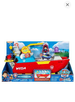 Paw Patrol Sea Boat for Sale in Worcester, MA