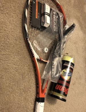 Head Tennis Racket Radical MicroGel MP 98 square inch Racquet — Adult or Teen Tennis Racket for Sale in Raleigh, NC