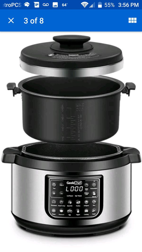 11 Amp 1 Pressure Cooker 8qts New For Sale In San Diego