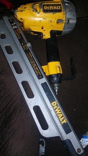 Dewalt nail gun D51845 for Sale in San Diego, CA