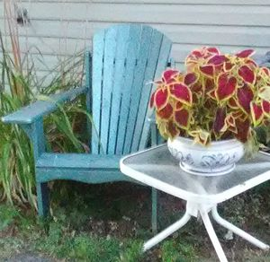 Wooden Adirondack chair for Sale in Columbus, OH