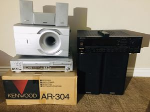 Lot of audio equipment. Kenwood, pioneer, teac. for Sale in Mission Viejo, CA