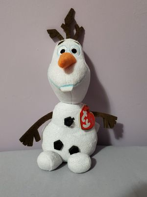 TY Beanie baby Disney Frozen Olaf plushie for Sale in Brooklyn, NY