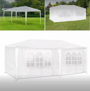 10'x 20' Party Tent Outdoor Pavilion Event Gazebo Wedding Canopy w/6 Side Walls Backyard Wedding New for Sale in Toledo, OH