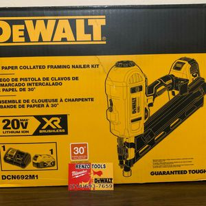 "BRAND NEW 30""PAPER COLLATED FRAMING NAILER KIT - PRECIO FIRME - FIRM PRICE for Sale in Dallas, TX"
