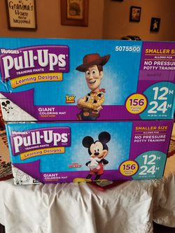Huggies pull ups 156ct for Sale in Evesham Township,  NJ