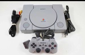 Sony Original PlayStation 1 vintage console + DualShock controller for Sale in Lake Forest Park, WA