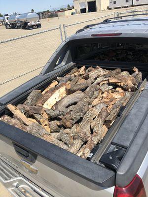 Truck load of Oak wood for Sale in RANCHO SUEY, CA