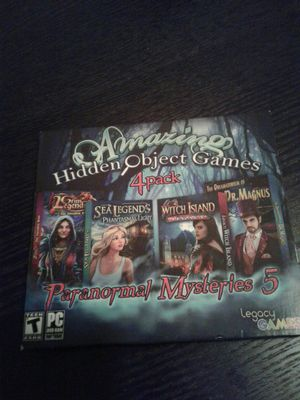 Hidden object games SCARY COMPUTER GAMES for Sale in Baton Rouge, LA