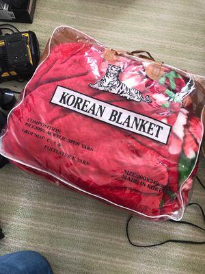 Korean Blanket for Sale in Manassas, VA