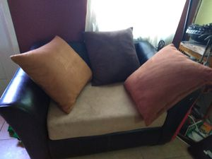 Sofa and pillows for Sale in Lake Park, FL