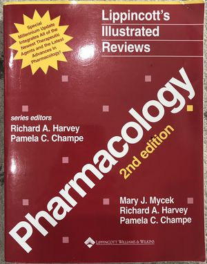 Lippincott's Phamacology textbook for Sale in Miami, FL
