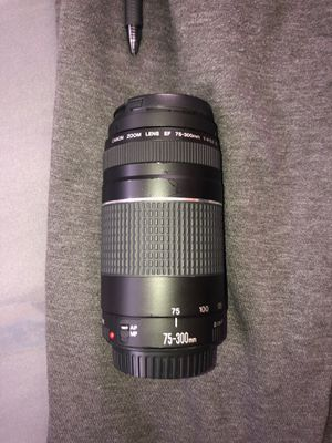 Canon 75-300mm for Sale in Terrytown, LA