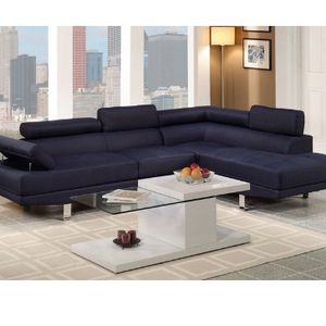 Dark Blue Modern Sofa Sectional Couch for Sale in Downey, CA