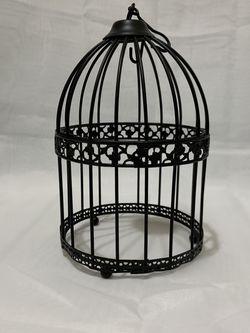 Bird Cage Decor Black- Like New for Sale in Cedar Hill,  TX