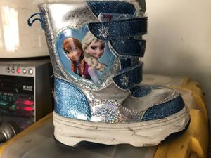Frozen snow boots for Sale in Louisville, KY
