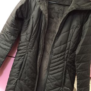 The North Face grey women's reversible long jacket 🧥 for Sale in Torrance, CA