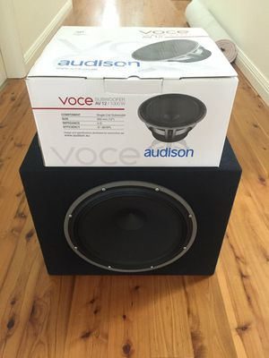 """VOCE AUDISON 12"""" 1000 W 250 obo for Sale in West Valley City, UT"""