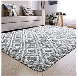 Brand New | Soft Indoor Large Modern Area Rugs Shaggy Patterned Fluffy Carpets Suitable for Living Room and Bedroom Nursery Rugs Home Decor Rugs for for Sale in Towson,  MD