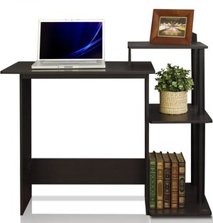 New Large Black Computer Desk- In Box for Sale in Beaumont, CA