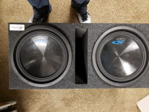 Alpine Subwoofers & Pioneer 4 channel Amp for Sale in St. Peters, MO