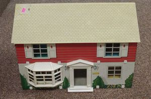 Vintage Antique Tin Doll House for Sale in Glen Raven, NC