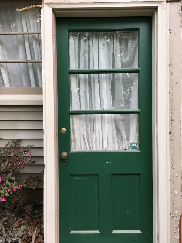 """30"""" by 80"""" Door for outside with frame"""