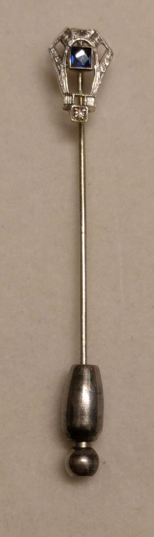 Vintage 14K White Gold Pin for Sale in Chicago, IL