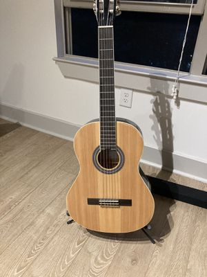 Acoustic guitar with stand and bag for Sale in Rockville, MD