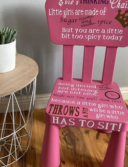Girls Time Out Chairs for Sale in San Dimas,  CA