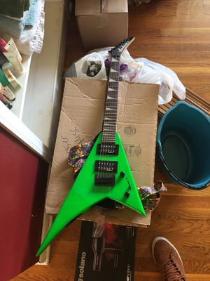 """Jackson """"Flying V"""" electric guitar. for Sale in Seattle, WA"""
